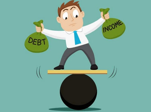 Debt can be a balancing act