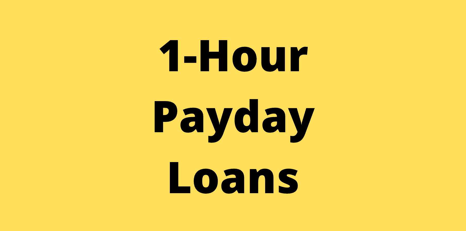1-hour payday loans Australia