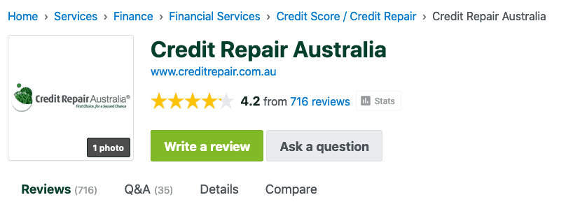 Credit Repair Australia Review