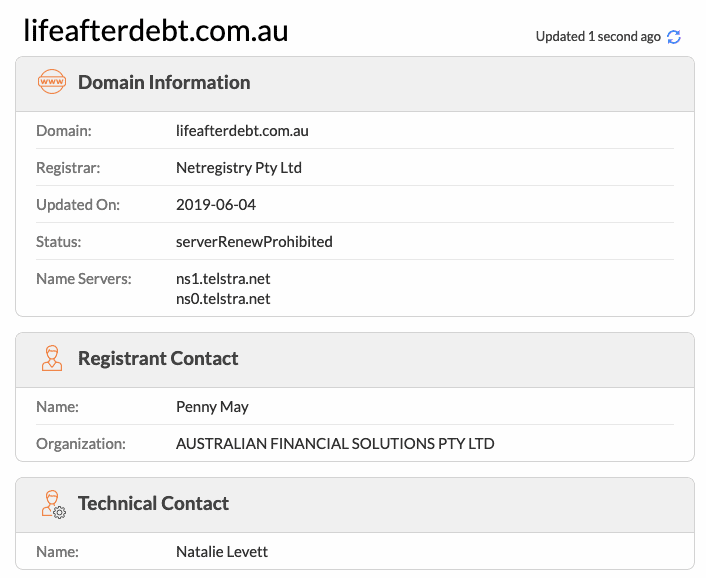 life after debt australia website